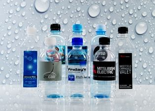 Personalised Water Bottles and Labels | Source Direct