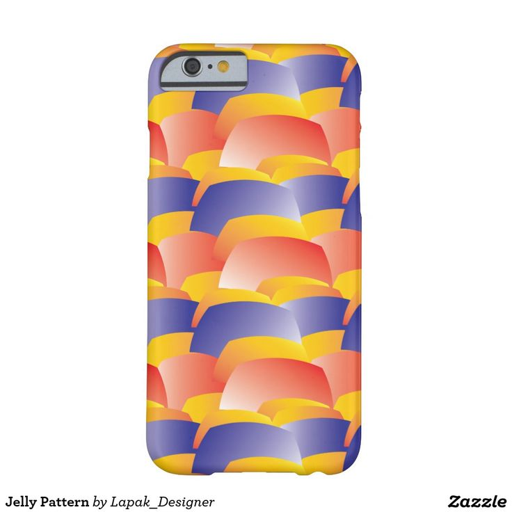 Jelly Pattern Barely There iPhone 6 Case