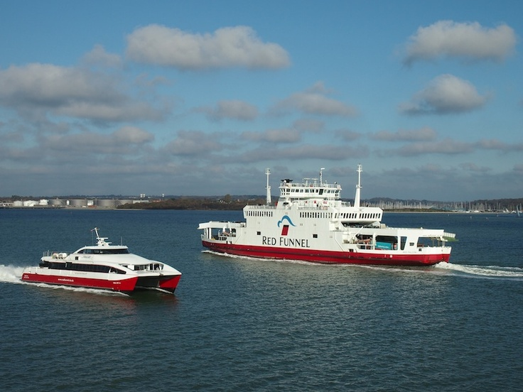 Red Funnel and Red Jet, Isle of Wight