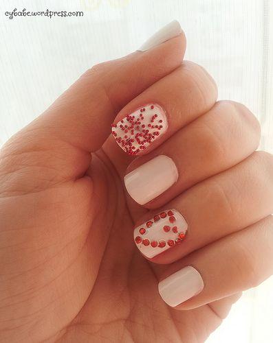 Valetine's Day Nails
