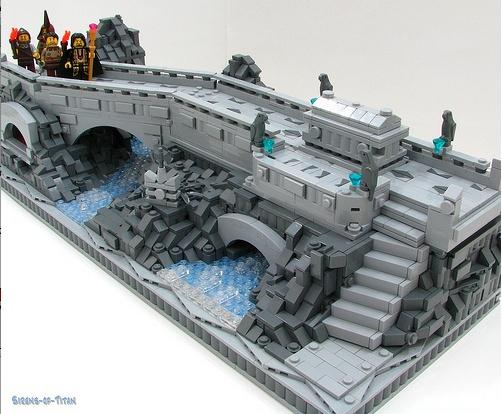 LEGO Stone Bridge