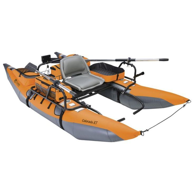 Classic Accessories Colorado XT Inflatable Pontoon Boat, Green
