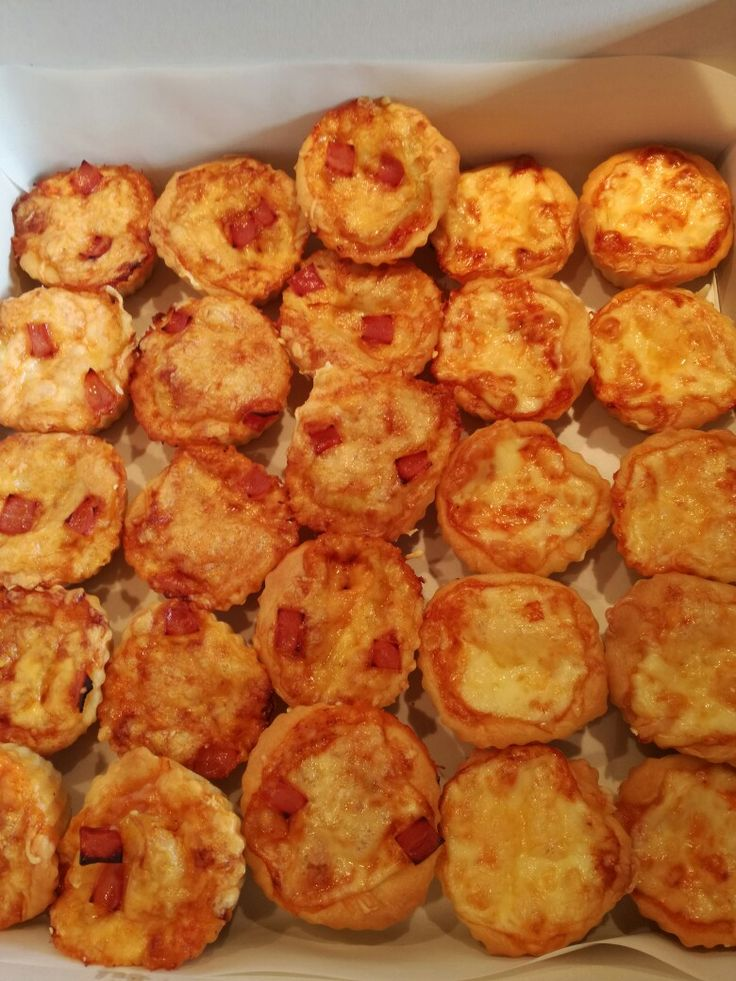 Pizza cupcakes Xara's Kitchen