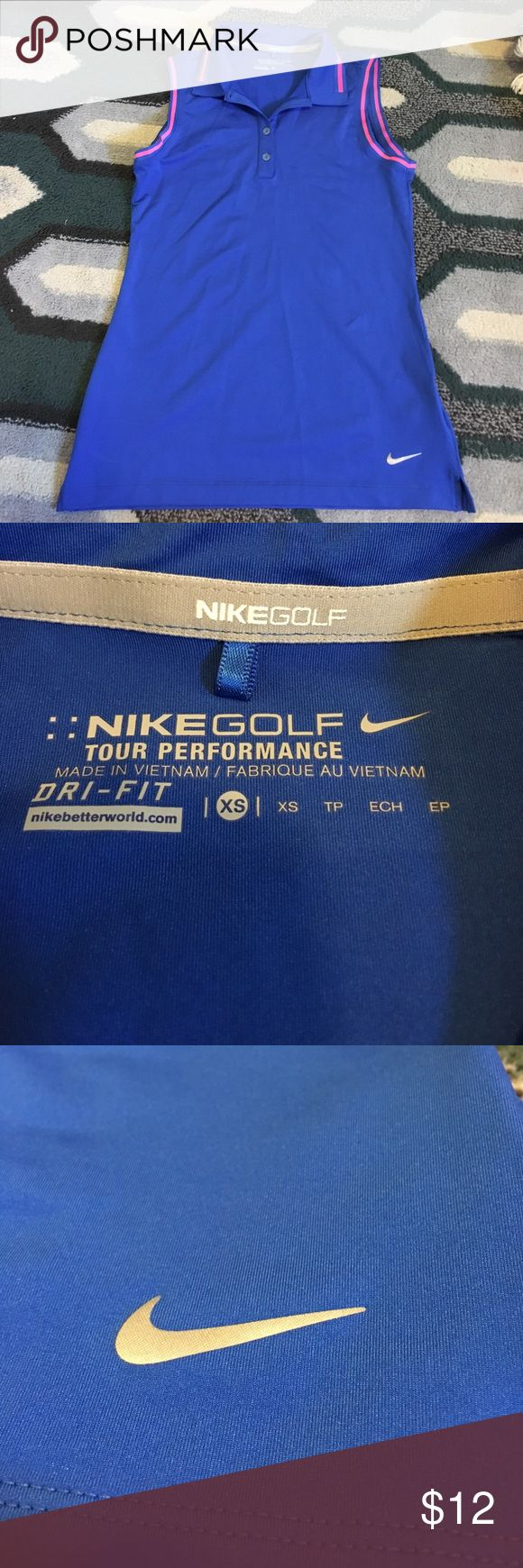 Nike Dri-Fit Women's Golf Shirt Never worn. In excellent condition! Nike Tops