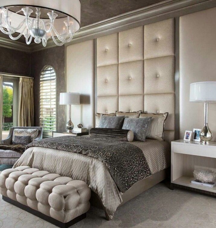 Schlafzimmer, Wohnen, Champagnerfarbenes Schlafzimmer, Schlafzimmerdesign,  Luxus Schlafzimmer Design, Schlafzimmer Ideen, Master Dekorationideen Für  Das ...