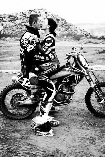 I love you Cody , forever and always . Dirt bike love