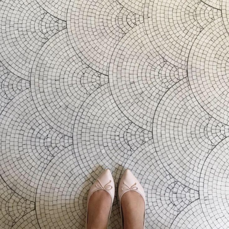 Imagine this tiling on a bathroom floor!                                                                                                                                                                                 More