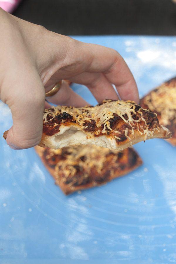 Mini Pizza Recipe with Goan Sausage Choriz masalaherb.com #stepbystep