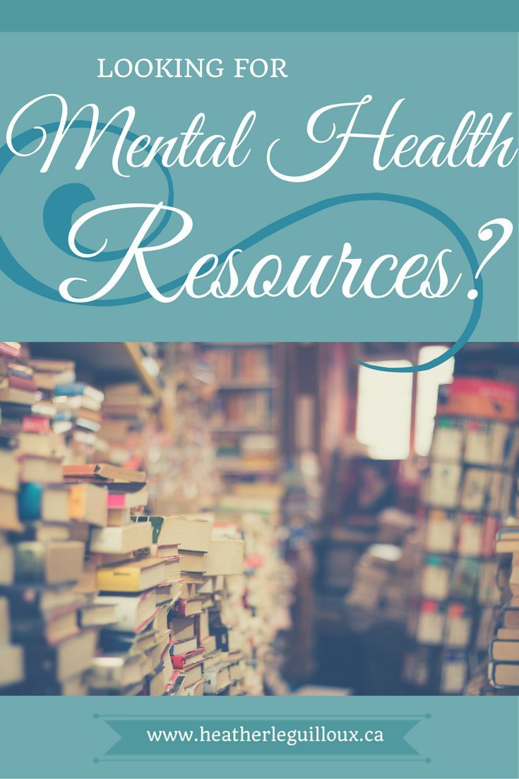 Books on physical therapy - Resources Page Heatherleguilloux Ca Mental Health Books Magazines Ecourses