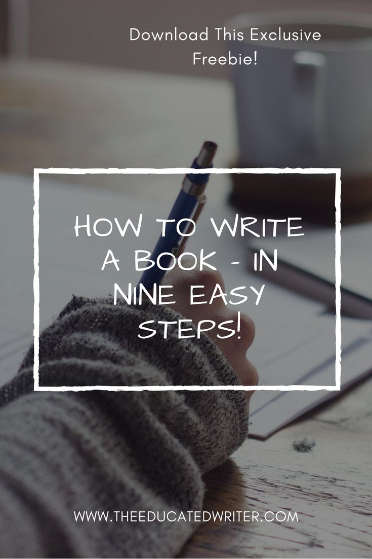 I know committing to writing a book can be a daunting task. Therefore, I've created a fifteen-page freebie with nine steps to help you write, edit, and publish your book. This freebie will guide you through the book planning process, help you hold yourself accountable, give you tips for self-editing