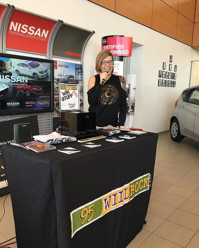Stino Is At Bob Rohrman S Kenosha Nissan Until 2 Come Stop In Say Hi And Enter To Win Some Motionless White Tickets Bobrohmann Kenoshanissan