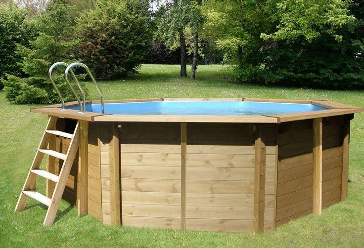 1000 id es propos de piscine bois sur pinterest for Promo piscine bois