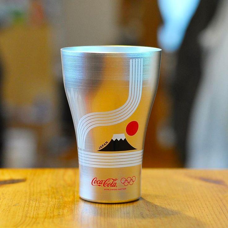 オリンピック開催国デザインアルミタンブラー3個セットの日本(Japan)です😁 (2016.7) #コカコーラ#cocacola#コカコーラアルミタンブラー#コカコーラ当たる#cocacola 2016#コカコーラオリンピック