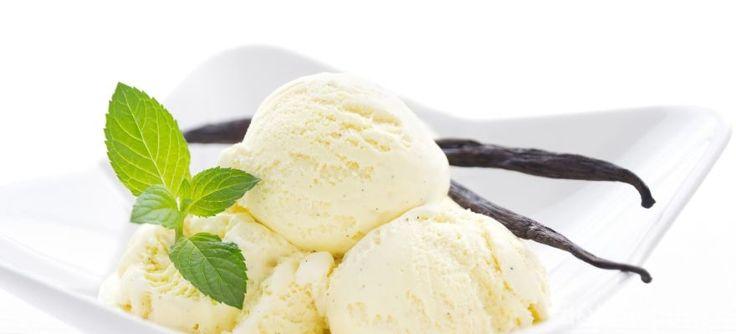 Vanilínová zmrzlina