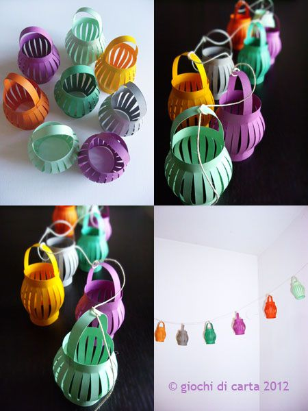 LOOKING FOR IDEAS.... 4th birthday is coming... Garland of small oriental lanterns