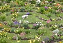 Labyrinth Garden Earth Scuplture-WEst Bend, WI