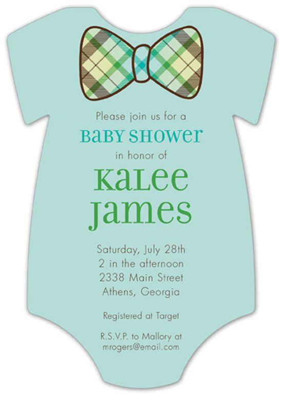 25 best onesie invitations images on pinterest shower invitation plaid bowtie onesie baby shower invitations for boys at polka dot design invitations solutioingenieria Choice Image