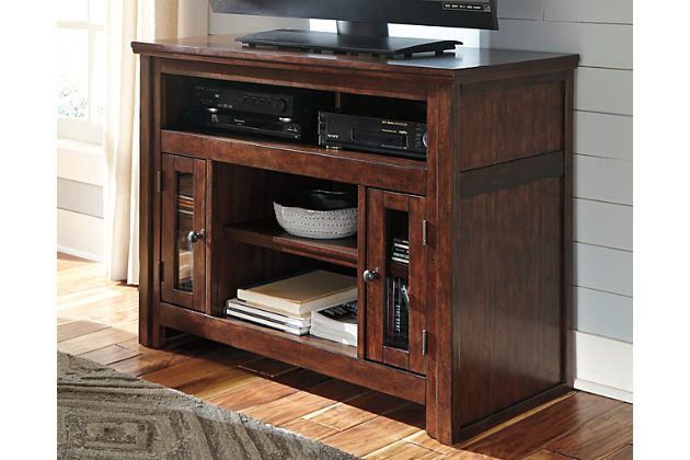 Need a stylish home for your television? The classic Harpan TV stand is masterfully crafted with entertainment needs in mind. You