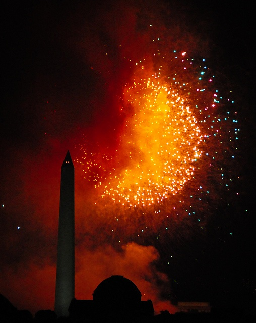 4th of july fireworks dc national mall