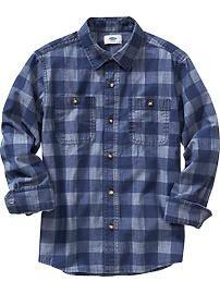 Buffalo Plaid Shirt @ Old Navy