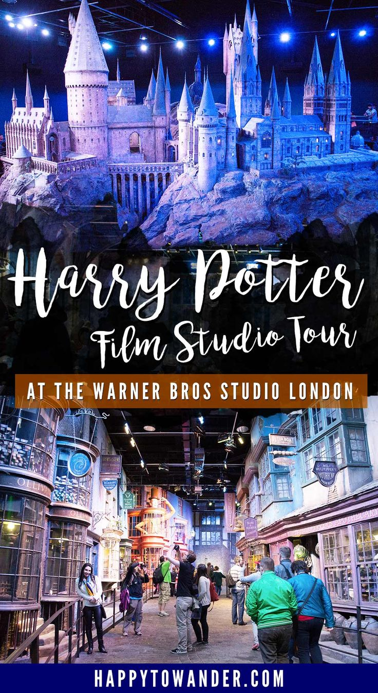 Looking forward to our Christmas present soon! Guide to Warner Bros Studio Tour London | Happy to Wander