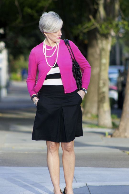 positively pink | Style at a certain age #overfiftyblogger: