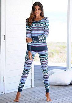 Bench pizsama színes norvégmintás