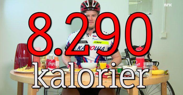 ¿Qué come un ciclista en una etapa del Tour de Francia?