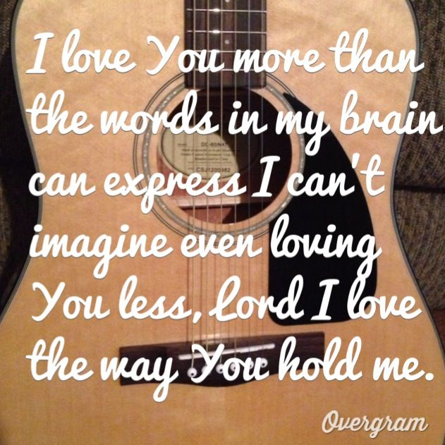Hold me- Jamie Grace (ft. Toby Mac)  #MyOriginal