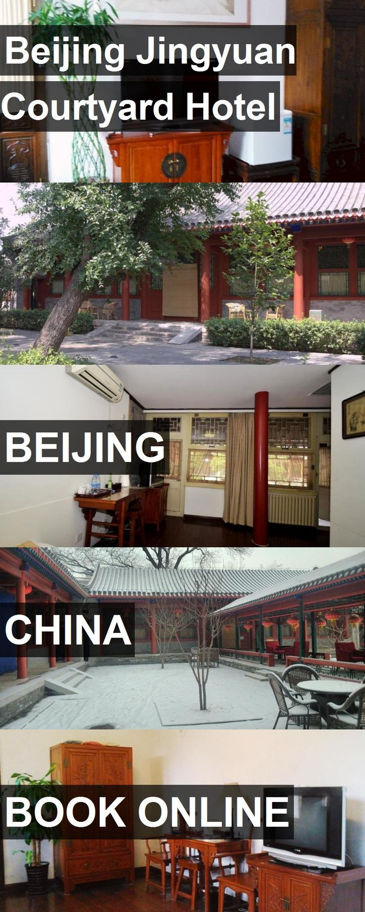 Beijing Jingyuan Courtyard Hotel in Beijing, China. For more information, photos, reviews and best prices please follow the link. #China #Beijing #travel #vacation #hotel