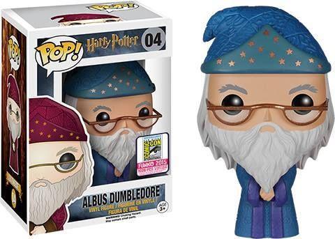 La figurine pop Albus Dumbledore robe bleue en détails : notez, commentez et…