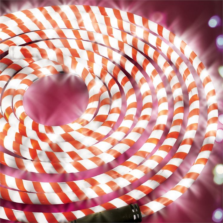 67 best candy cane rope lights images on pinterest christmas lytworx 6m led candy cane festive rope light aloadofball Image collections