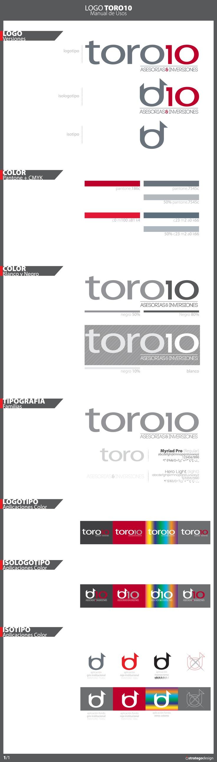Desarrollo Imagen Corporativa  TORO10
