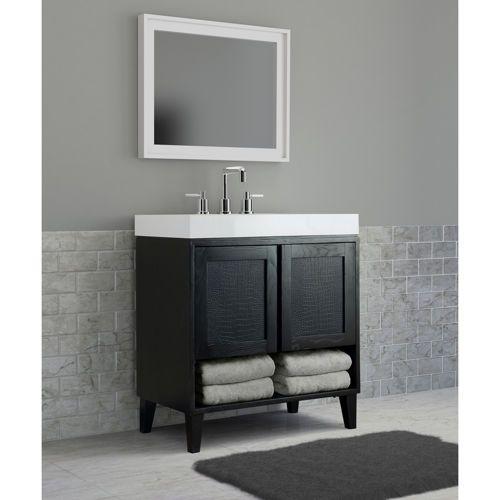 30 vanity with sink. costco online- kell single sink vanity by today\u0027s bath downstairs bathroom 30 with l