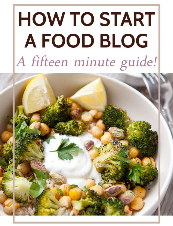 How to start a food blog in 15 minutes! A quick walkthrough on how to secure a domain and install wordpress so you can start writing your own content. I also included lists of some excellent themes and plugins so you can be up and running in no time!