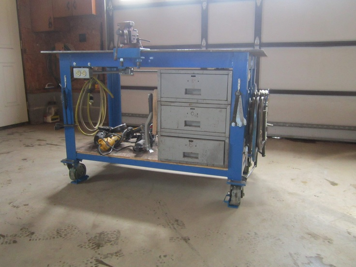 162 Best Images About Welding Tables Tool Storage On