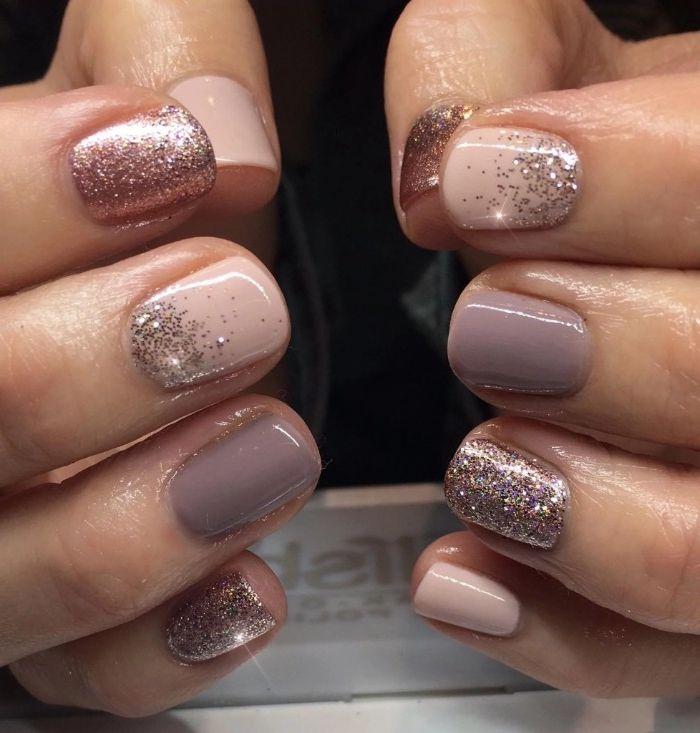 ▷ 1001 + Ideen für Nude Nails Designs – Herrlich schicke Hände – nägel