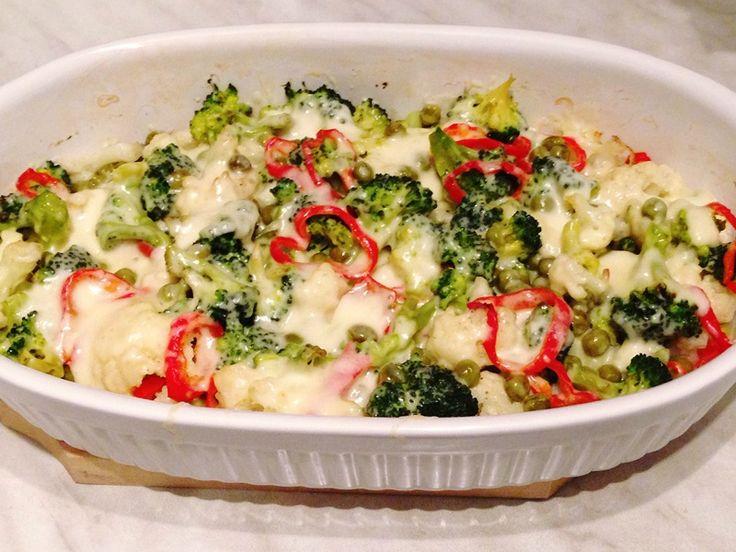 Broccoli si conopida la cuptor