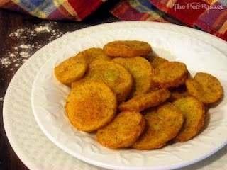 Southern fried squash yummy:)