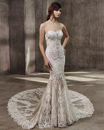 Avita Wedding Gown | Badgley Mischka Bride Couture 2017