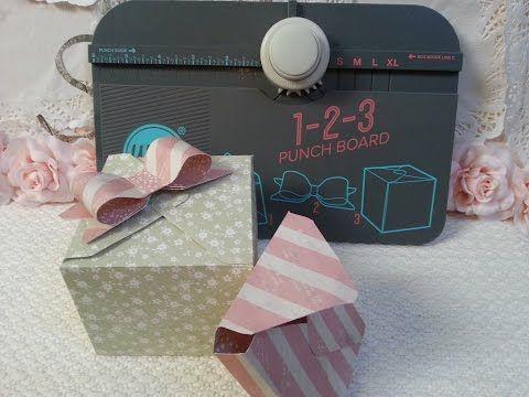 1,2,3 Punch Board We R Scrap DIY - YouTube