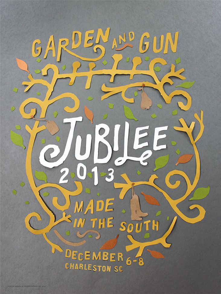 Jubilee Poster Final Stitch Design Company Charleston