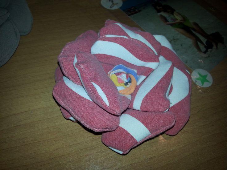 rosa in stoffa