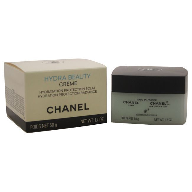 Chanel Hydra Beauty Creme 1.7-ounce Hydration Protection Radiance, Red