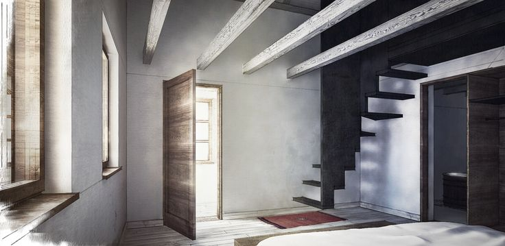 House FM / Sigle Family House / Location: Cisnădioara / Year: 2015 - 2016 / Team: Mihai Sima, Raluca Sabău, Emese Luha / 3D Visualisation: Emese Luh