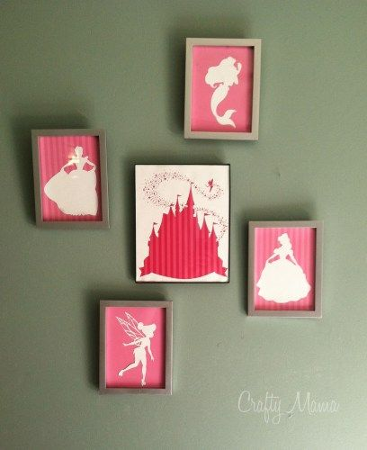 Princess Silhouettes, this blog has tons of free Silhouette cameo downloads!