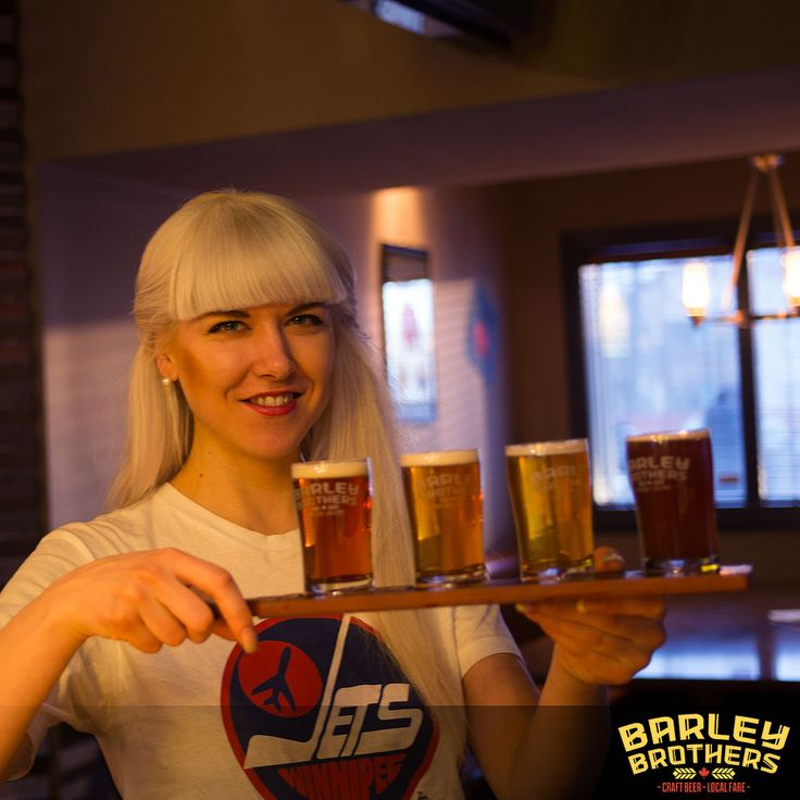 Barley Brothers serves up the best craft beer in Winnipeg. The restaurant, gastro pub and bar has 2 locations; Polo Park & Stadium. Watch sports, grab a beer or enjoy great local fare. #exploremb