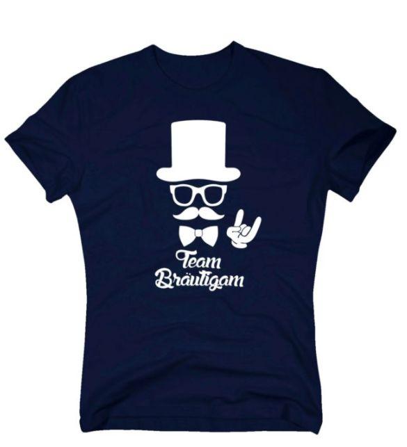 Lustiges JGA Shirt für Männer, die ebenso cool wie stylisch sind und alles für das Team Bräutigam geben!