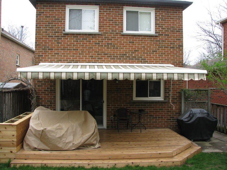Retractable awnings, big or small, Harmony does it all!