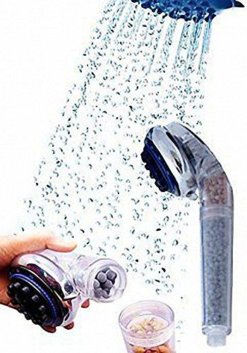 Negative Ion Spa Shower Head Water softener and purifier